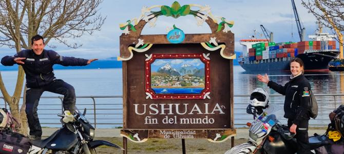 Ushuaia, here we come